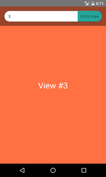 React Native navigate Specific View of ScrollView on Button