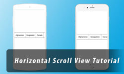 Create a Simple Horizontal ScrollView in React Native