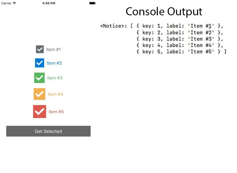 Create React Native Custom Checkbox Android iOS Tutorial