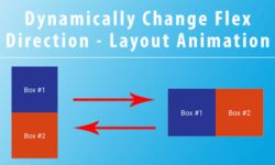 dynamically change flex direction