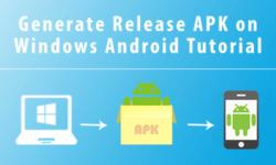 generate release apk