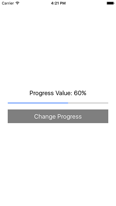 React Native Dynamically Change Horizontal ProgressBar Progress on